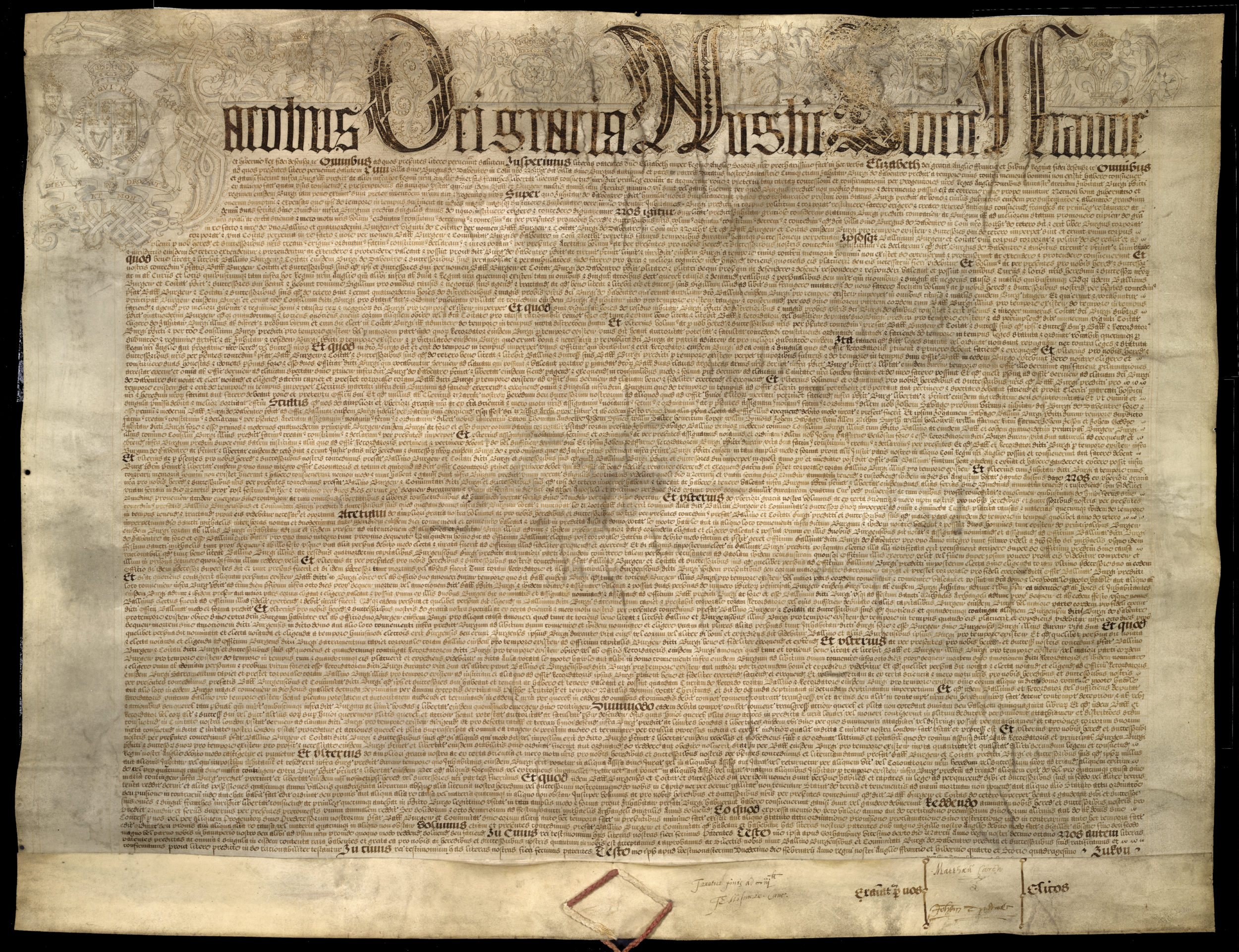 James I Town Charter of 1607