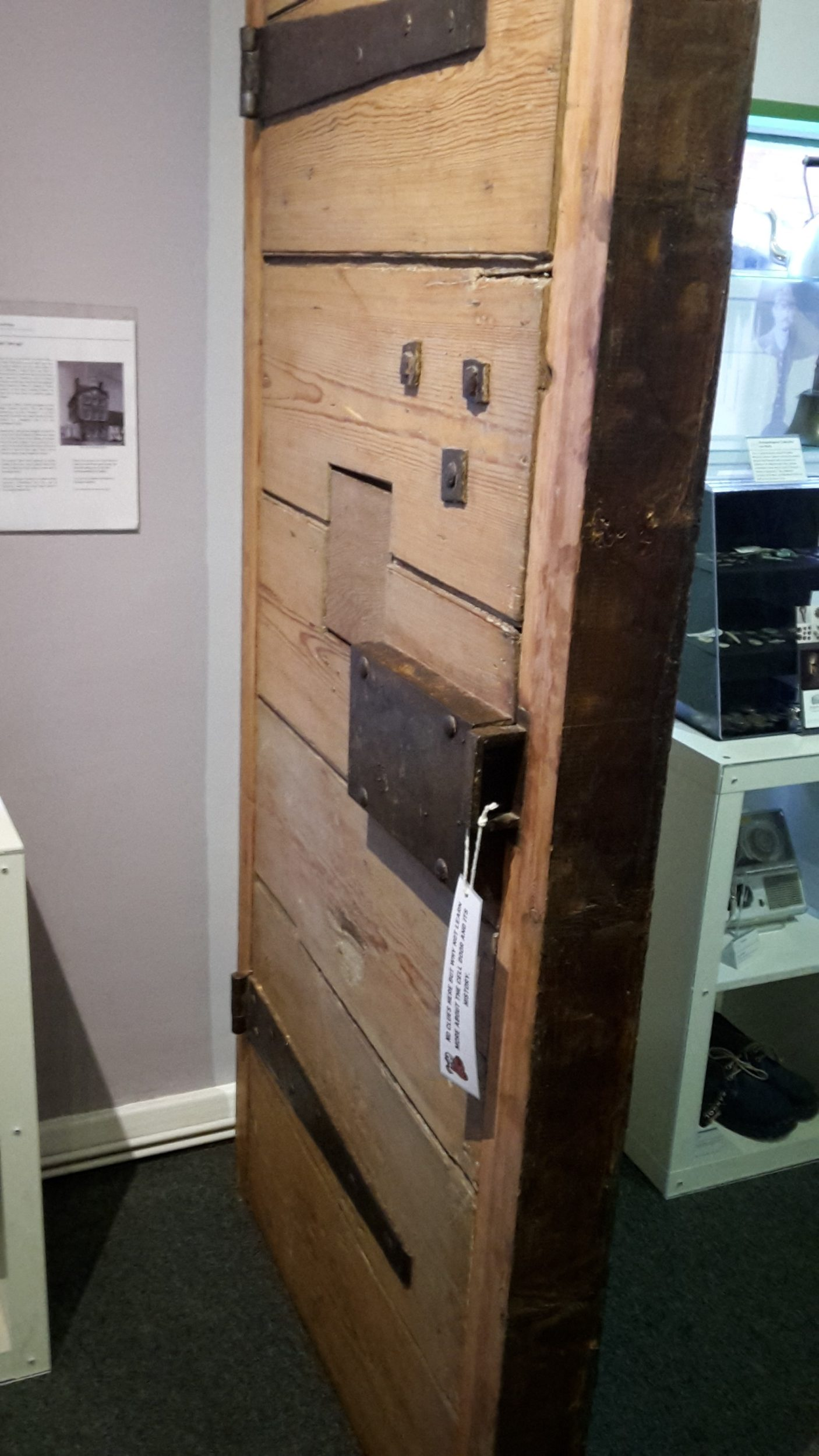 Cell Door from the Old Moot Hall