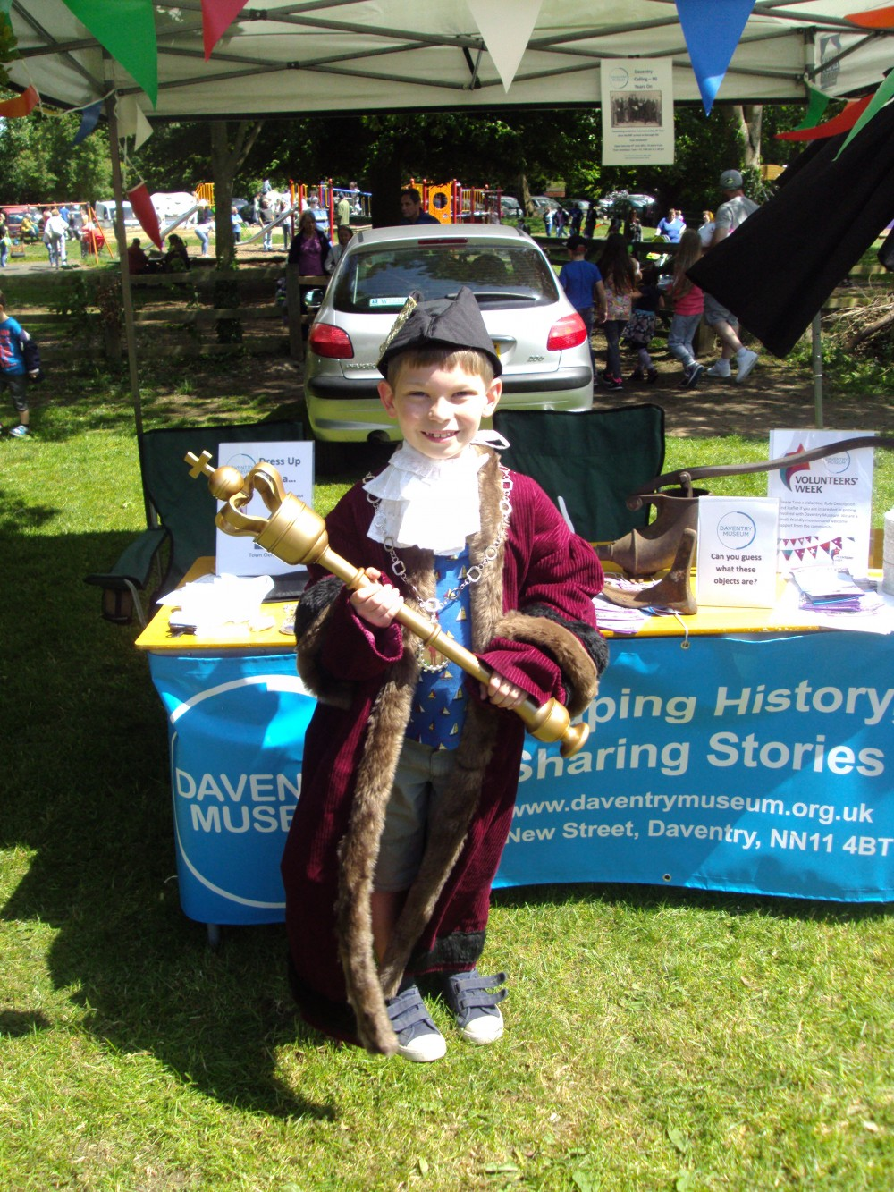 Daventry Museum display at Daventry Country Park Fete
