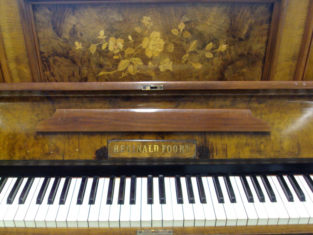 Piano acquired by museum.