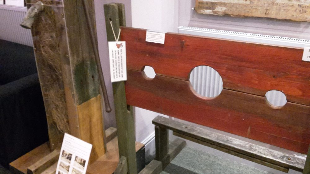 Pillory, on loan from the Abbey School, Daventry