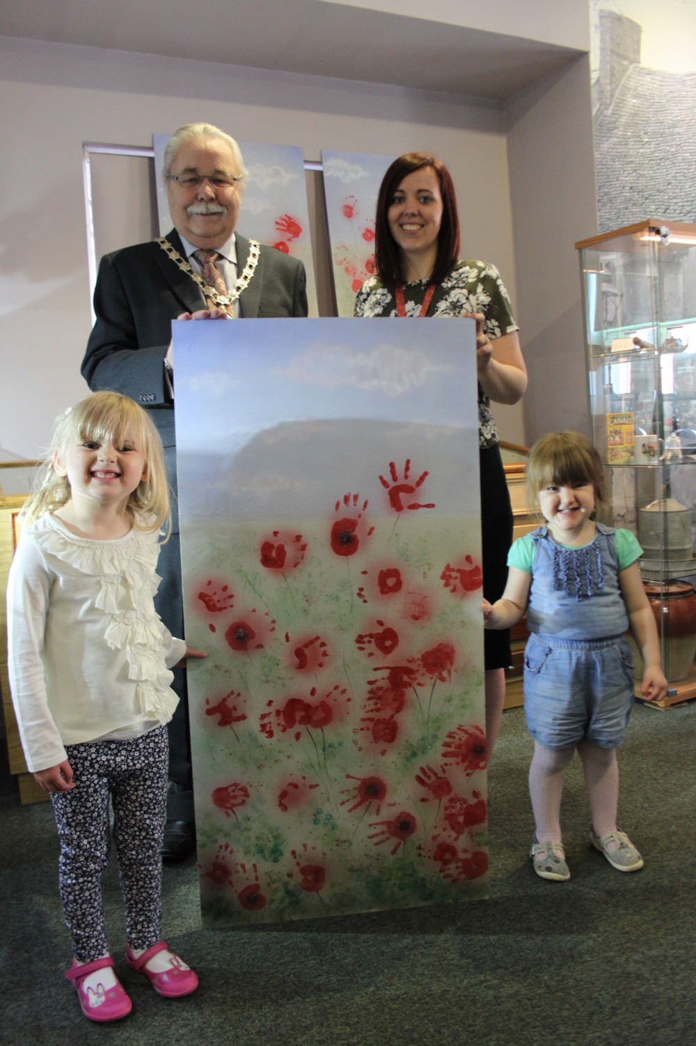 Submissions to Poppy Fields exhibition