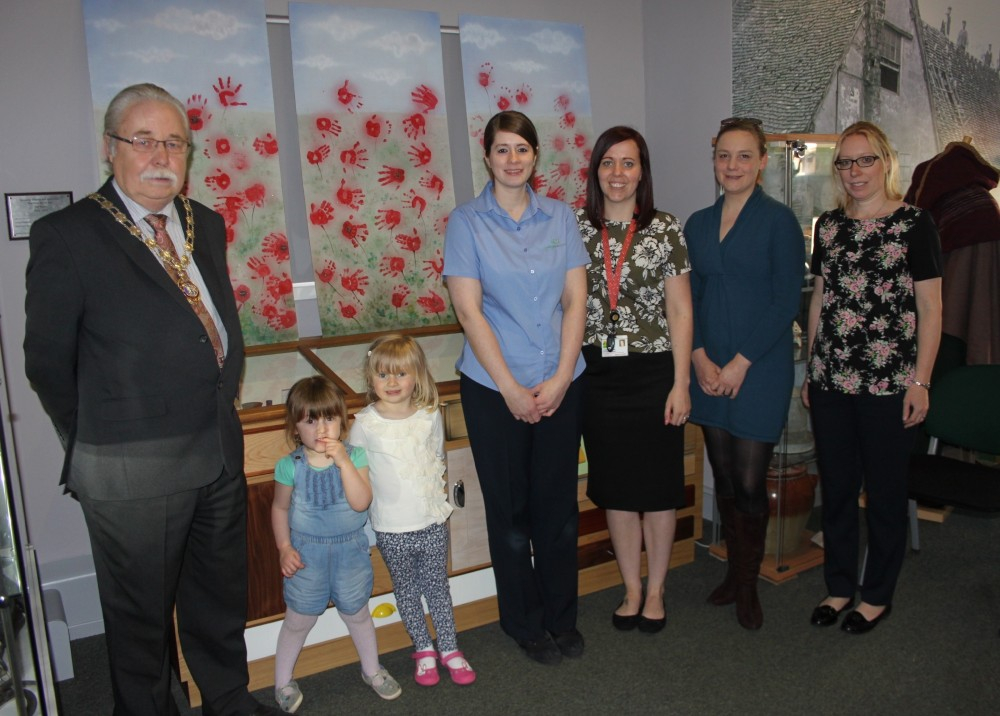 Submissions to Poppy Fields exhibition and visitors