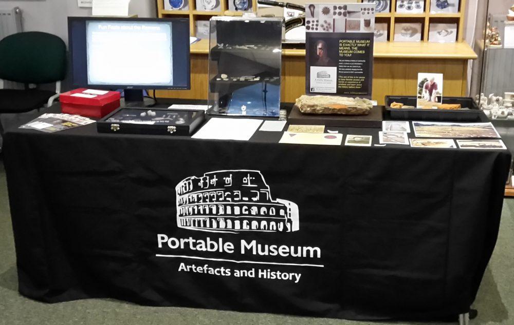 Portable museum display