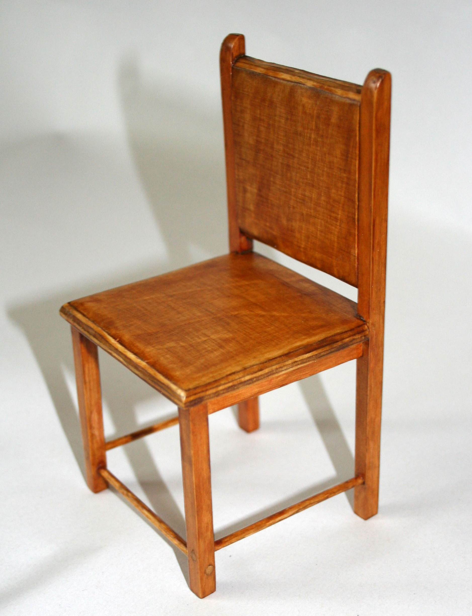 Image of chair model to represent fallen soldier from the First World War.